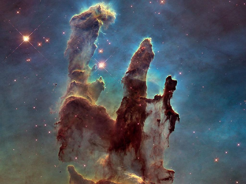 15 Foto Antariksa Ikonik yang Ditangkap Teleskop Hubble