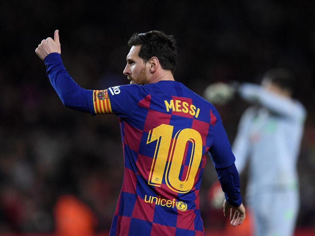 Messi Lebih Hebat dari Maradona, Setara dengan Pele