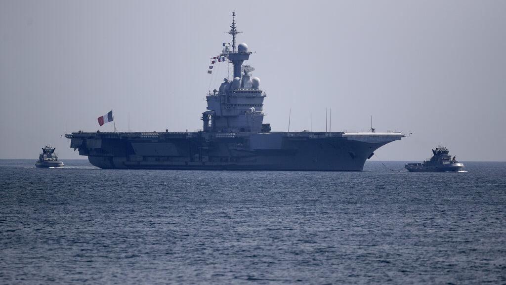 50 Tentara di Kapal Induk Prancis Positif Terinfeksi Corona