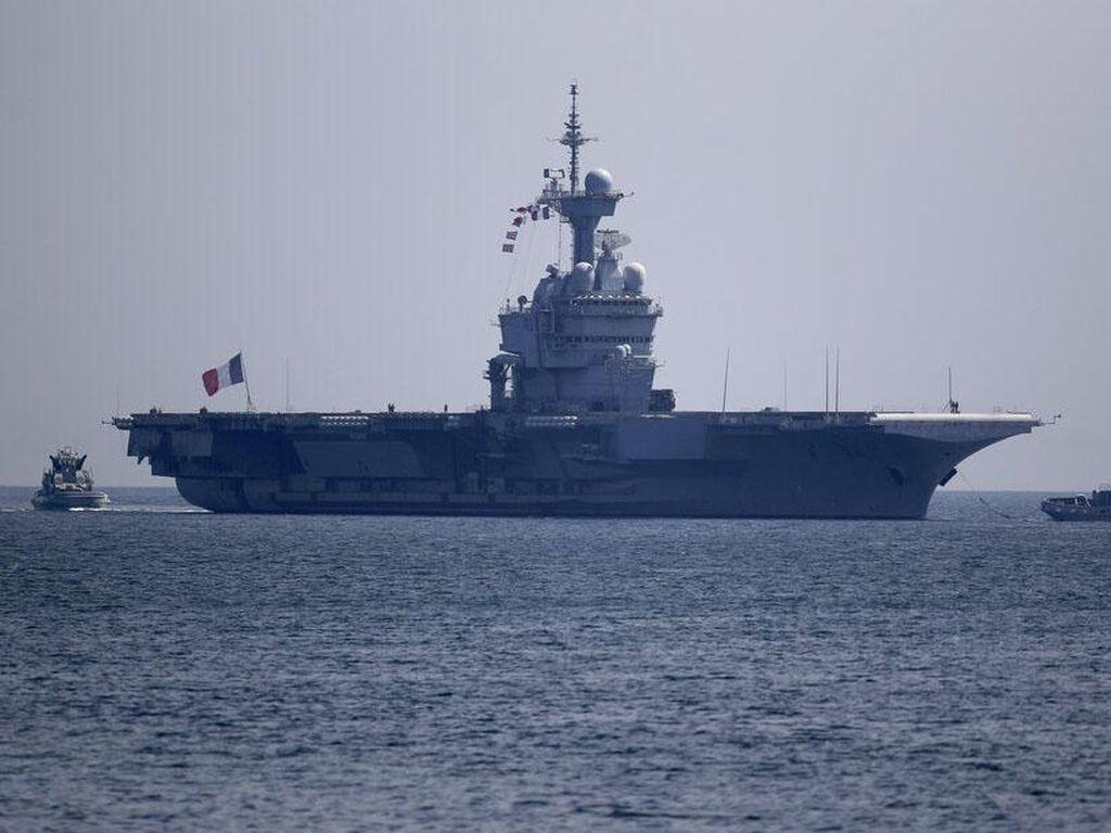 Corona Menyerang, 668 Angkatan Laut Prancis Terinfeksi