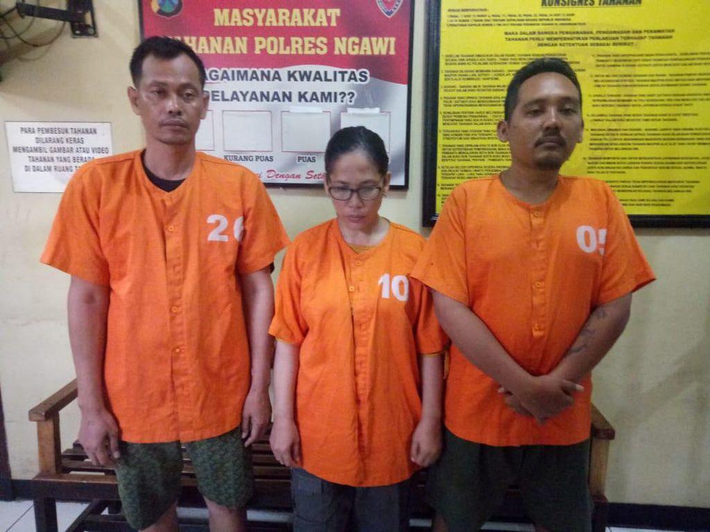 Polisi Ngawi Ringkus 3 Penipu yang Ngaku Aspri hingga Ajudan MenPAN-RB