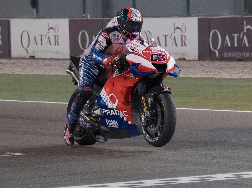 Bagnaia Berharap Duel Sengit di MotoGP Virtual Terulang di Lintasan Balap