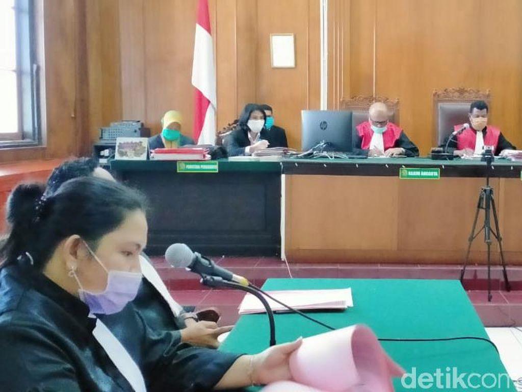 Terdakwa Aborsi dan Pembuang Janin Cucu di Surabaya Dituntut 5 Tahun Penjara