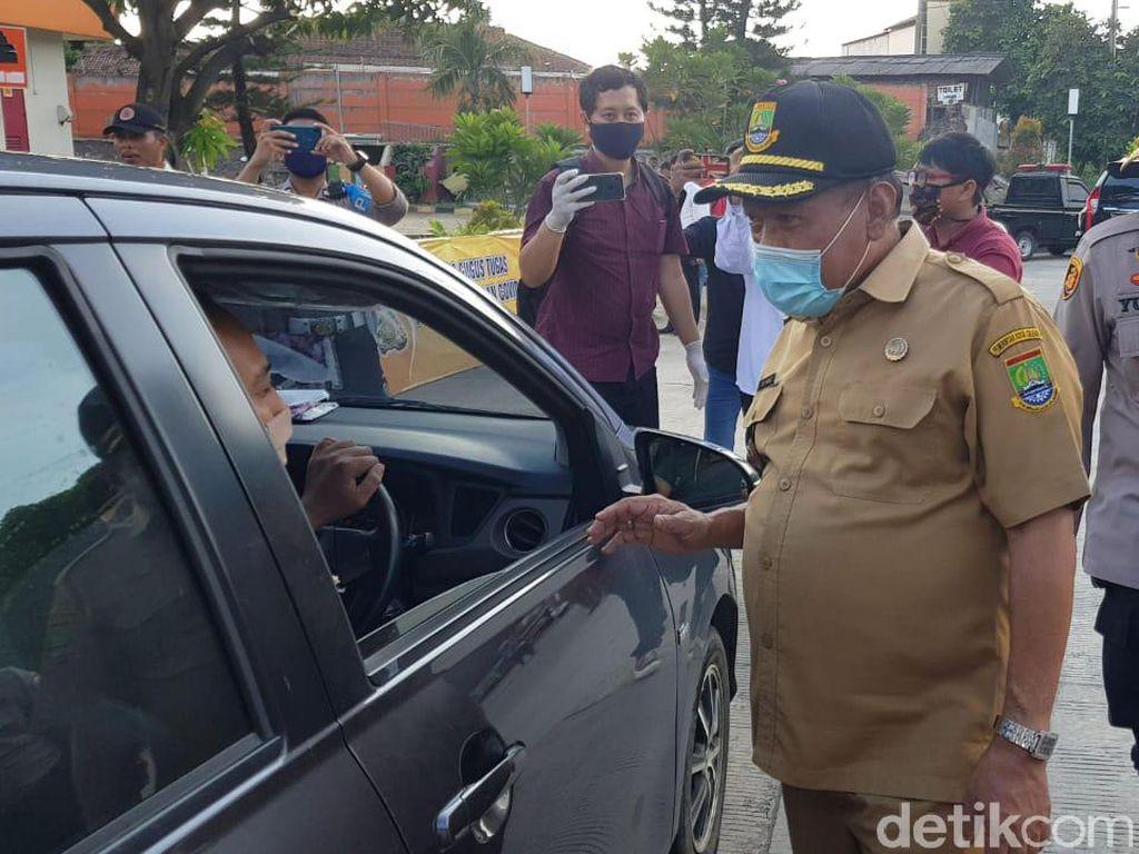 Uji Coba PSBB, Pemkot Cilegon Saring Kendaraan dari Jakarta