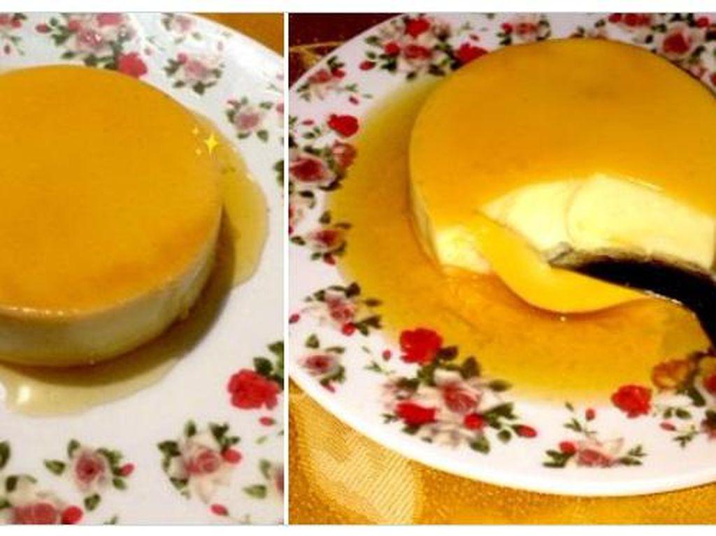 Resep Puding Custard Karamel Praktis ala Netizen