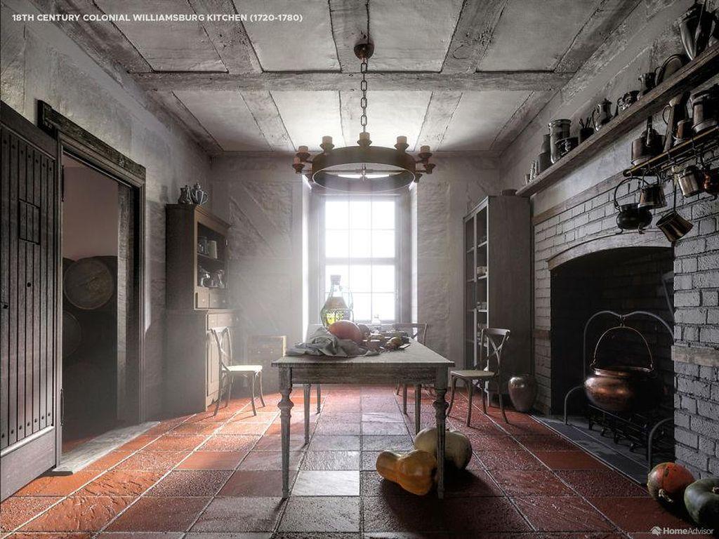 Desainer Ini Ungkap Perkembangan Desain Dapur dari Abad 16 sampai 21