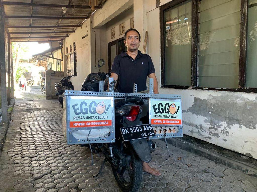 Kena PHK Akibat COVID-19, Mantan Karyawan Ini Jualan Telur Delivery