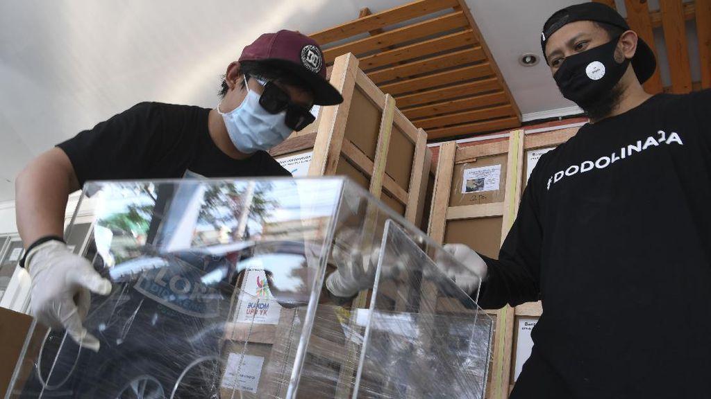 Aerosol Box untuk Lindungi Tenaga Medis