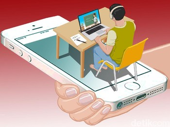 Tugas Kuliah Online Pun Pakai TikTok