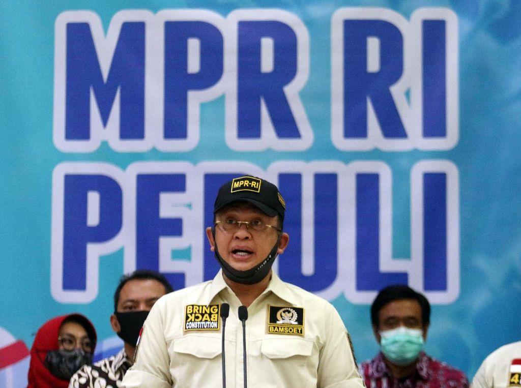 RI Dituding Curangi Ekspor, Ketua MPR: Bangun Dialog Agar Jelas