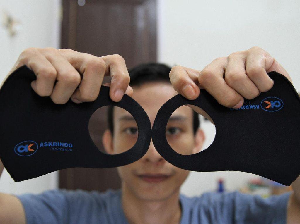 Omzet Pembuat Masker Meningkat di Tengah Pandemi Corona