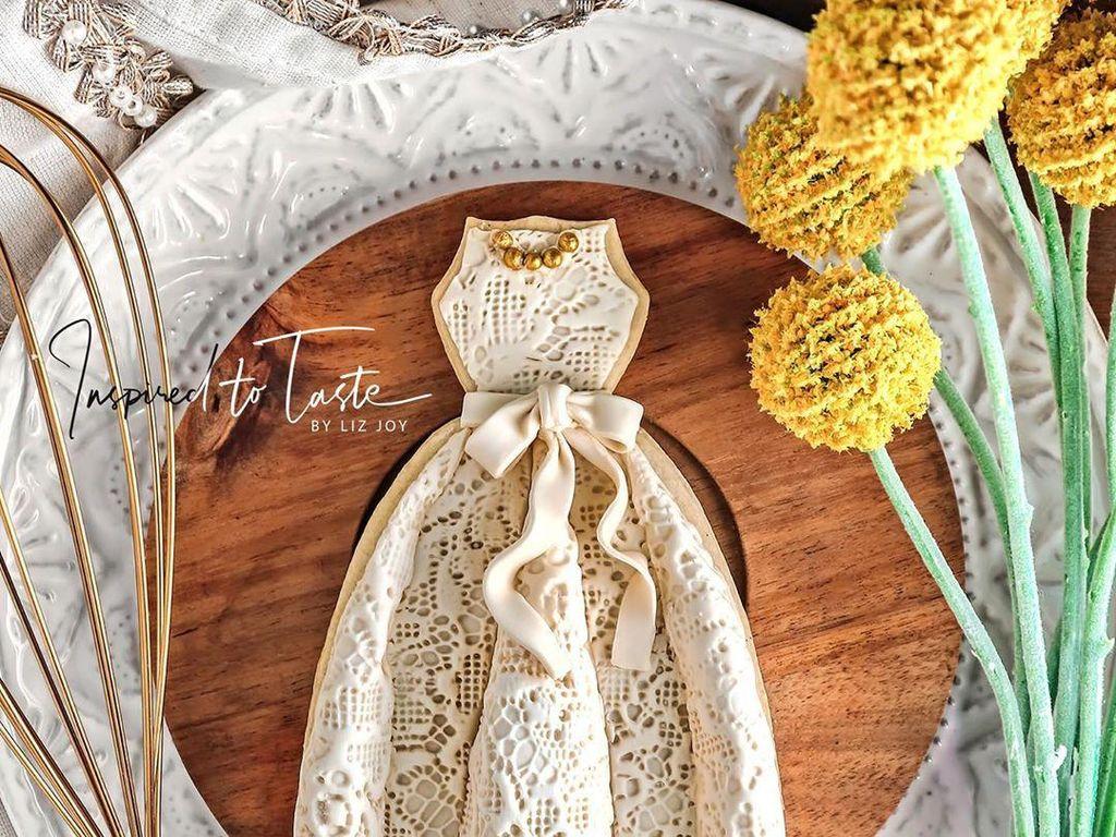 Yuk, Intip! 10 Cookies Cantik Berbentuk Gaun yang Anggun