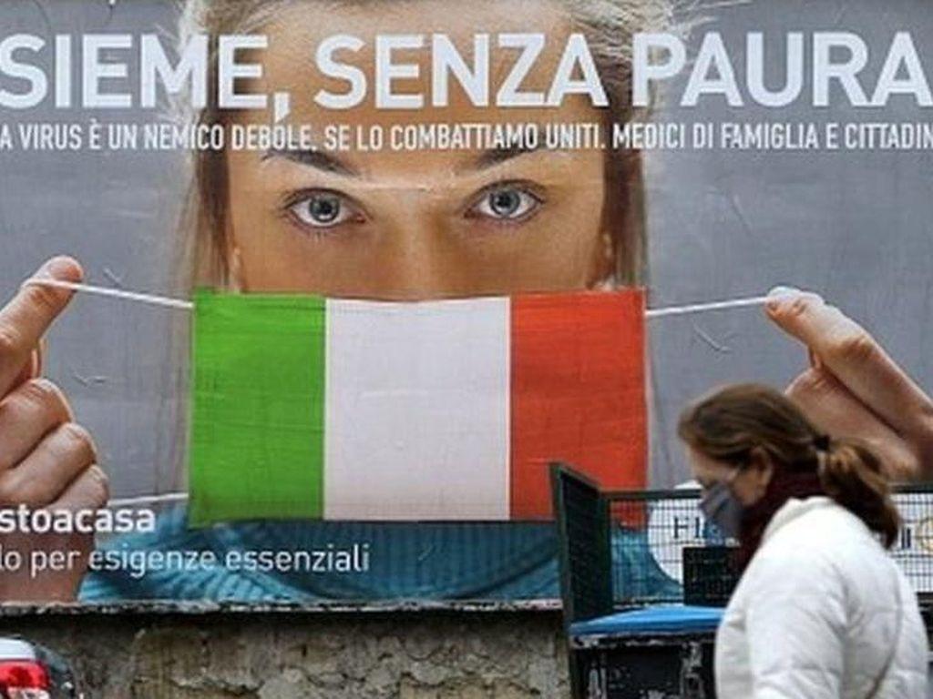 Berapa Kerugian dalam Bulan Pertama Lockdown Corona di Italia?