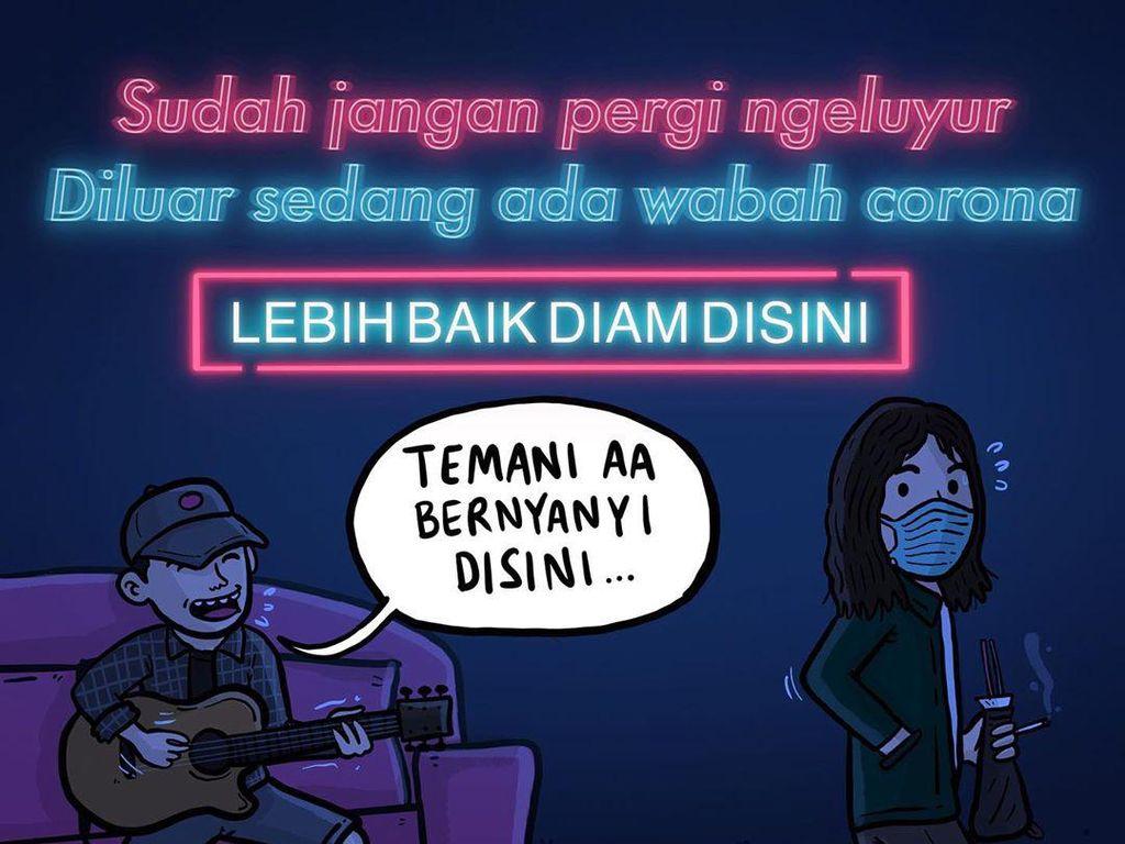 Komik Luks Penuh Sindiran Nyeleneh hingga Komedi Politik
