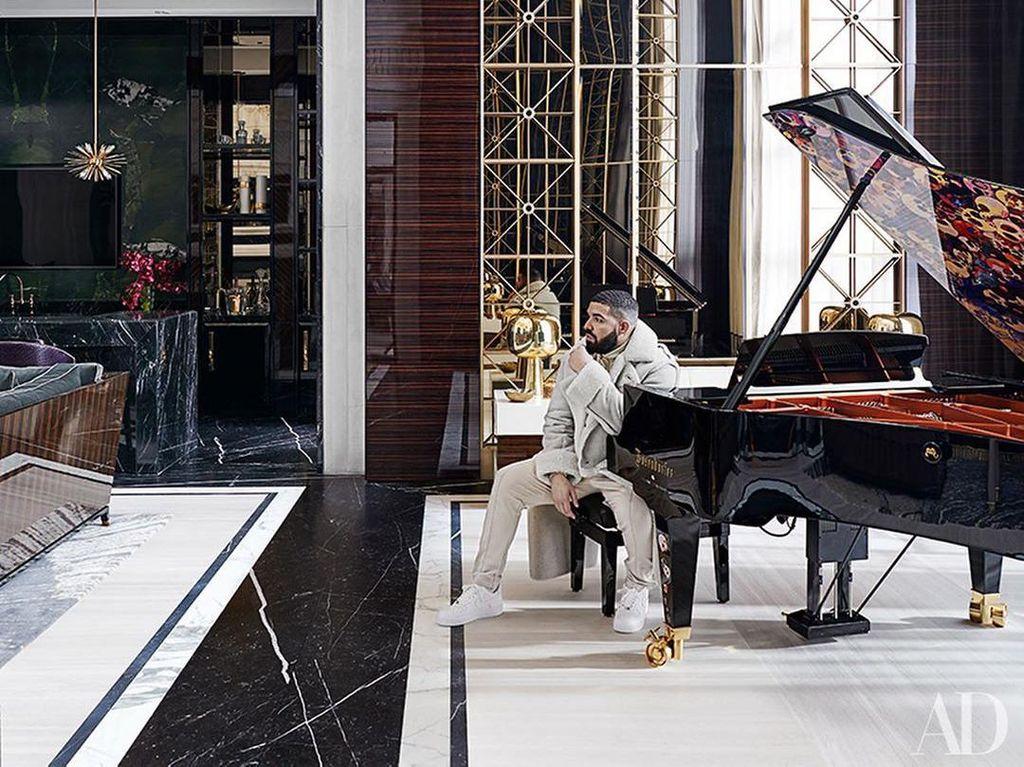 Megahnya Rumah Mewah Drake yang Di-bully Netizen, Dibilang Mirip Toko Retail