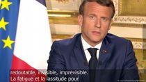 Perpanjang Lockdown Corona, Presiden Prancis: Hari Lebih Baik Akan Datang