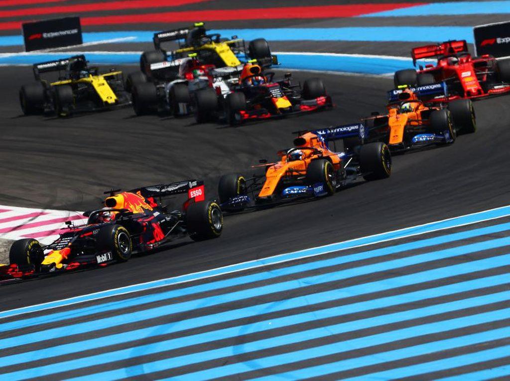 Lockdown Diperpanjang, F1 Prancis Ditunda?