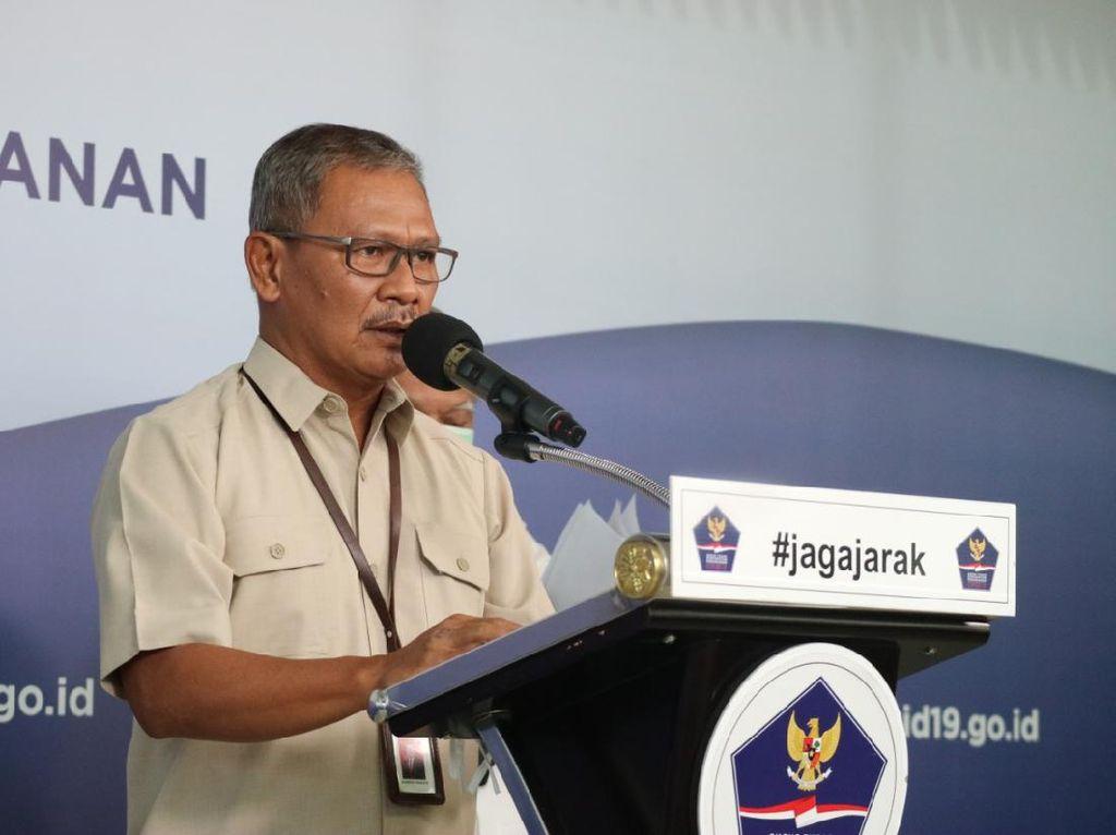 Sebaran 6.248 kasus Positif Corona di Indonesia Per 18 April