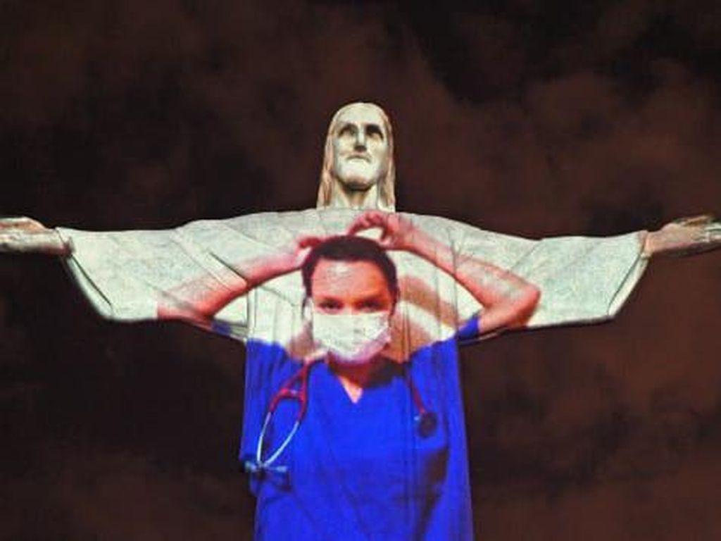 Saat Patung Kristus Brasil Menjadi Dokter