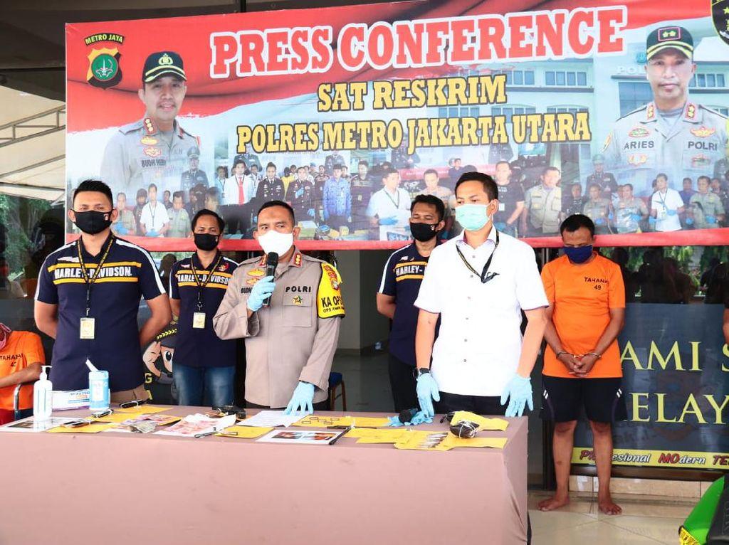 32 Kali Curi Motor Selama PSBB Jakarta, Komplotan Ini Ditangkap Polisi