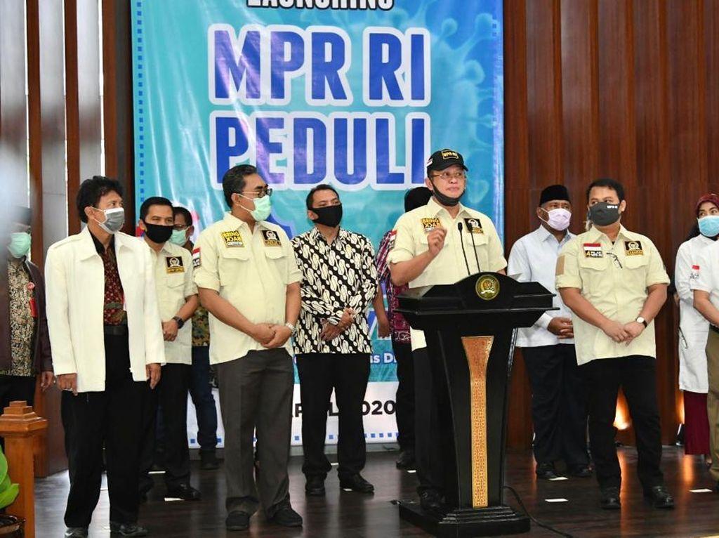 Penggalangan Dana MPR untuk Berantas COVID-19 Capai Rp 500 Juta