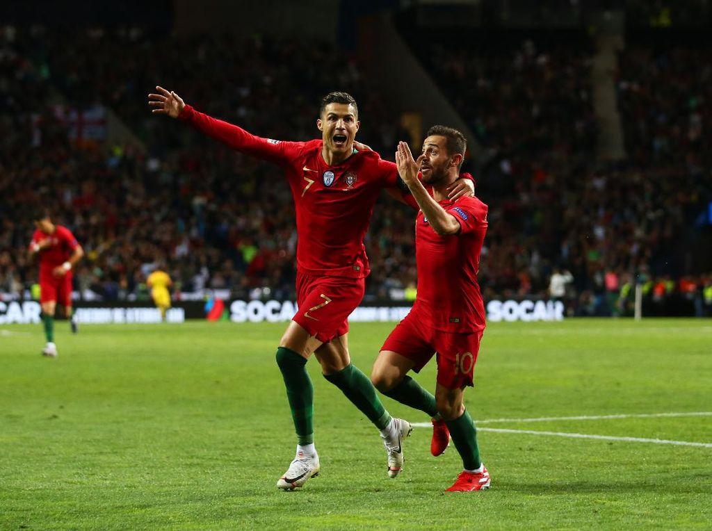Ronaldo di Balik Donasi Skuad Portugal untuk Tangani Virus Corona