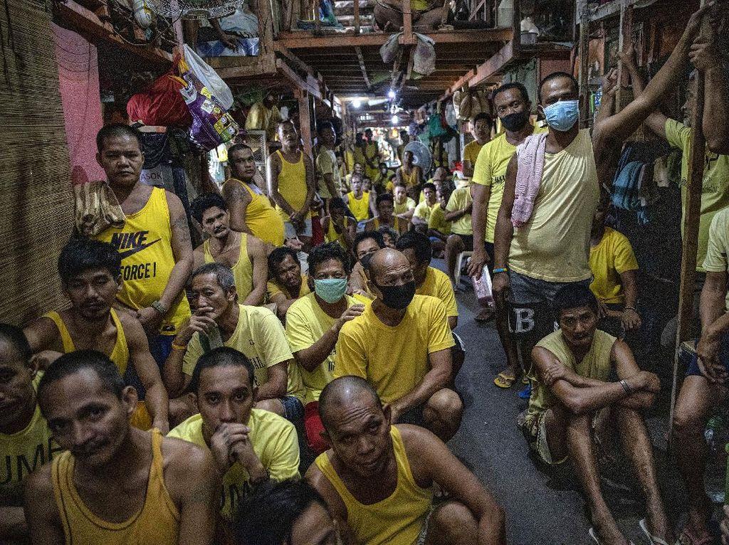 Rusuh di Lapas Peru Usai 2 Napi Positif Corona, 9 Tahanan Tewas