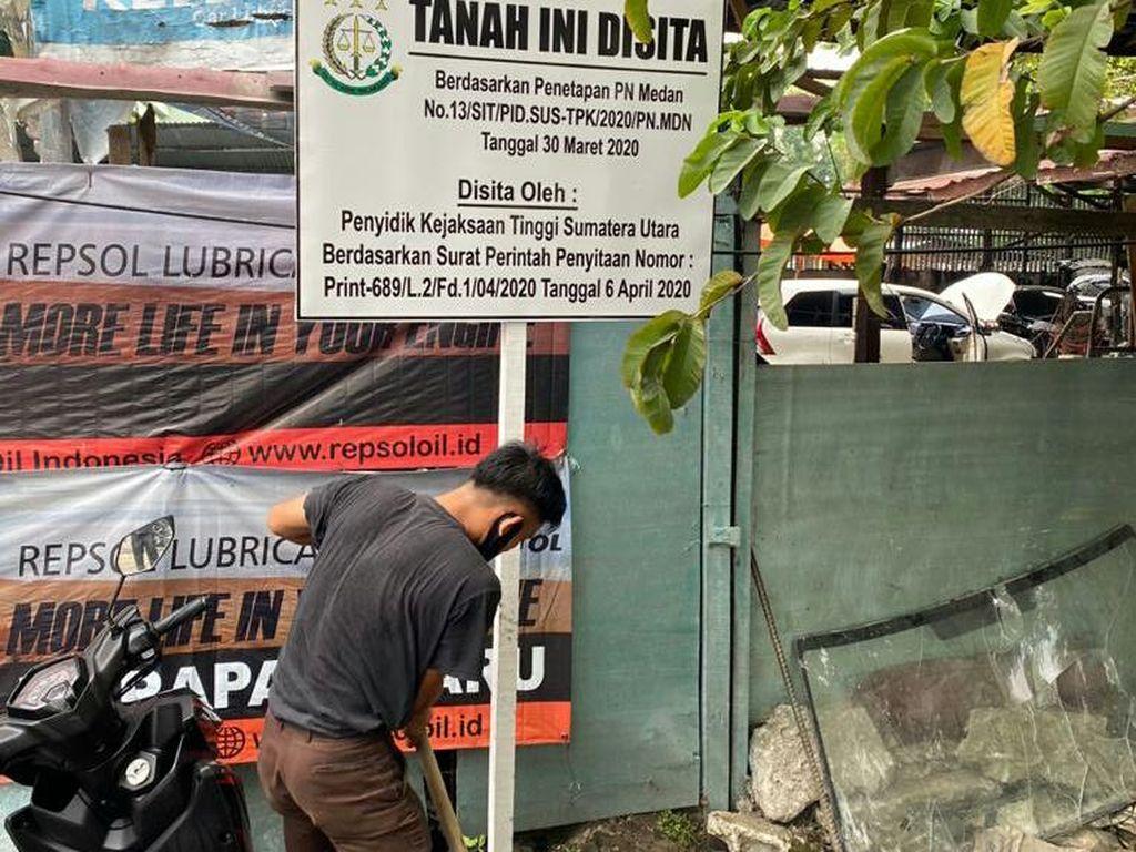Kejaksaan Sita Tanah Milik KAI yang Dikuasai Warga Sejak 2006 di Medan