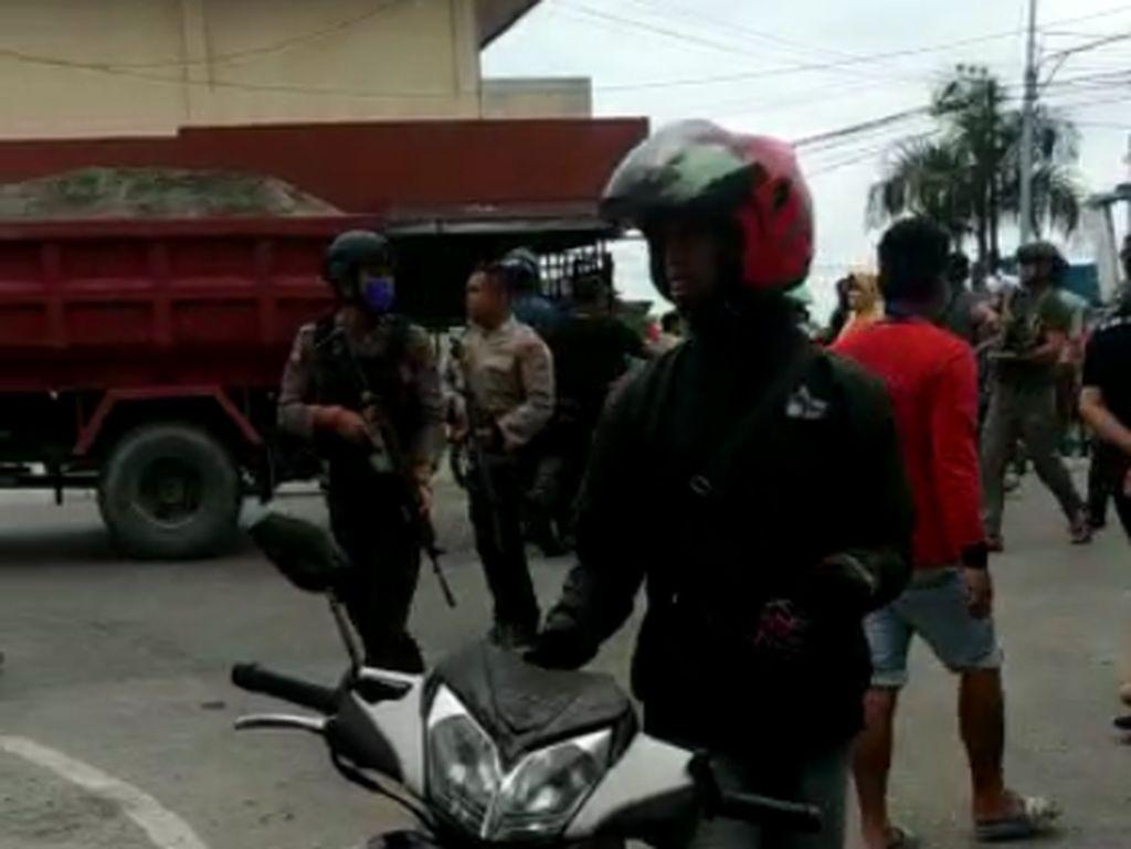 Penyerangan Kelompok Sipil Bersenjata di Poso, 1 Polisi Terluka