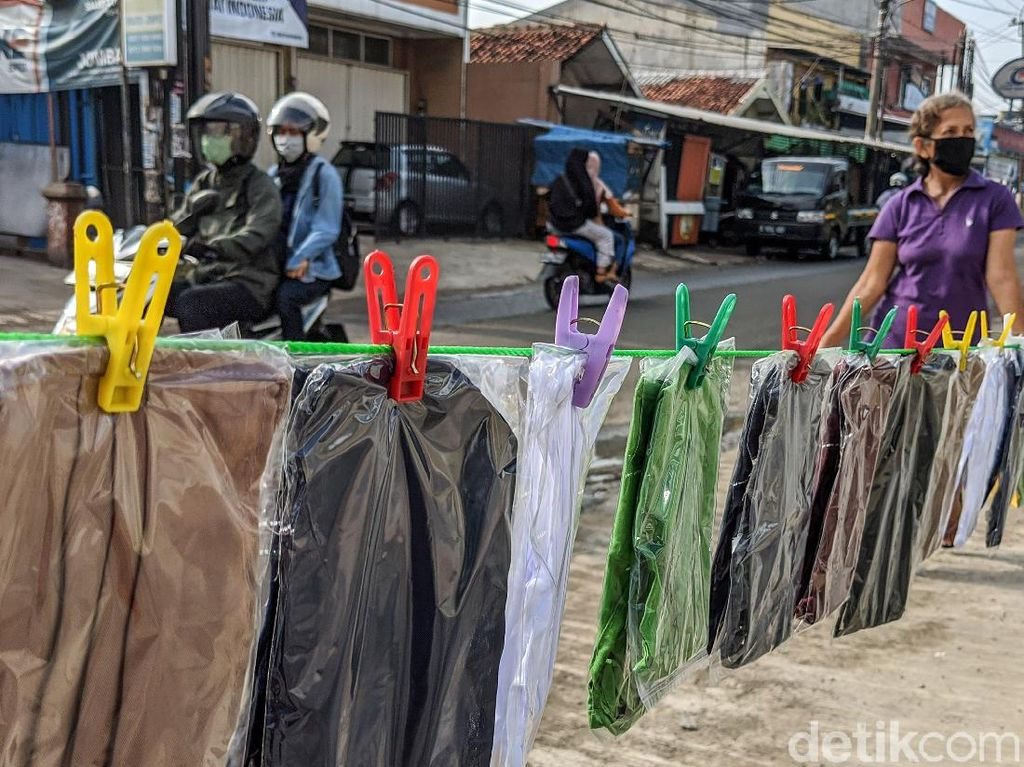 Siasati Imbas Corona, Produsen Bendera Banting Setir Bikin Masker