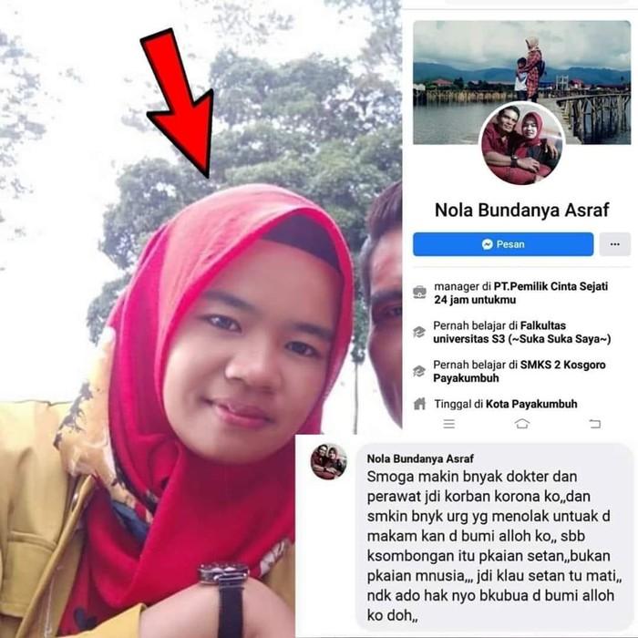 Polisi Tangkap Penulis post FB yang Viral Doakan Paramedis Kena Corona