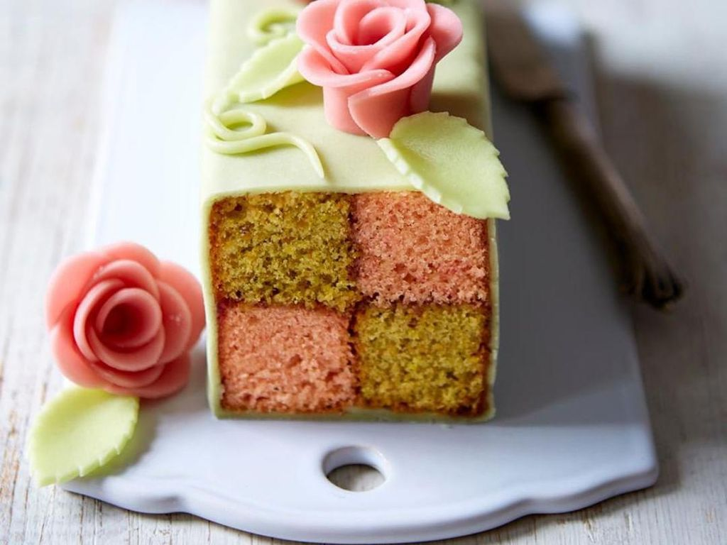 Cantiknya Battenberg Cake, Bolu Klasik Asal Inggris yang Cantik