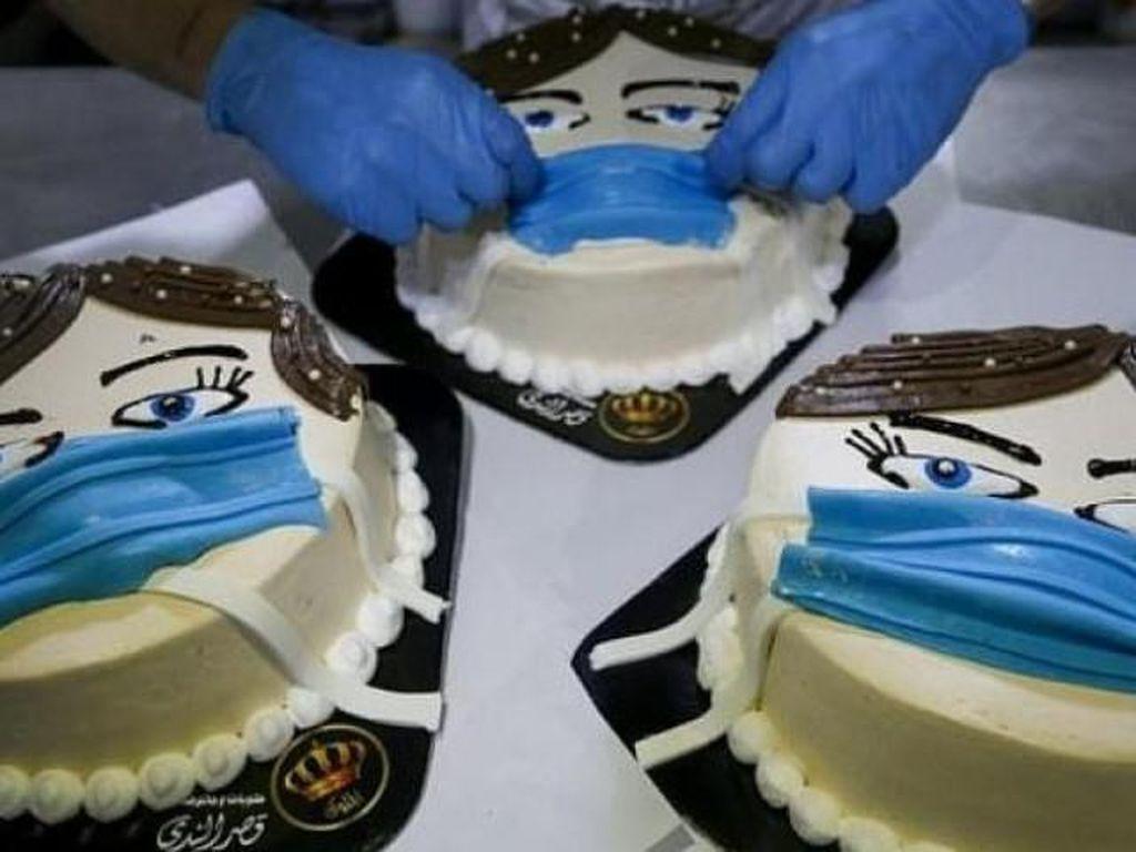 Ingatkan Virus Corona, Cookies hingga Cokelat Dihiasi dengan Masker