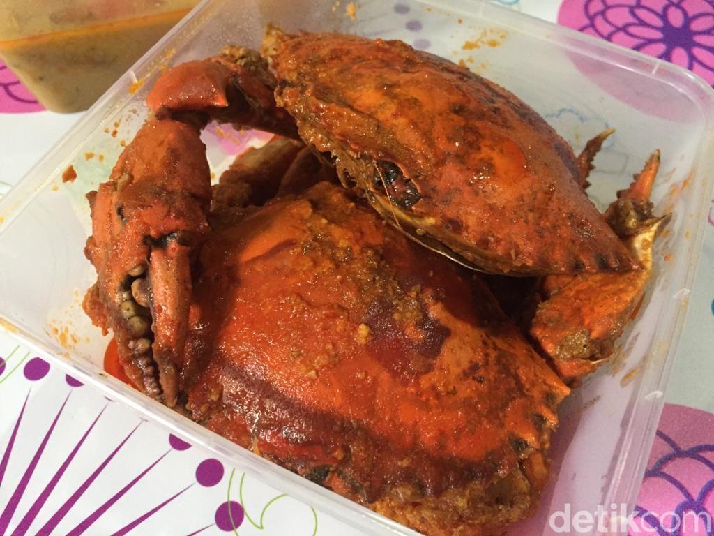 Kepiting Depok: Pedas Mantap Kepiting Telur Bumbu Saus Padang Berharga Miring