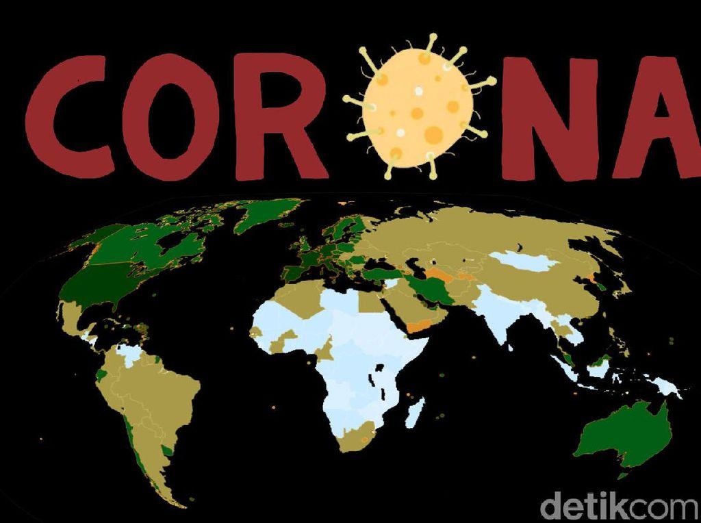 WNI Positif Corona di Luar Negeri Jadi 994: 551 Sembuh, 56 Meninggal