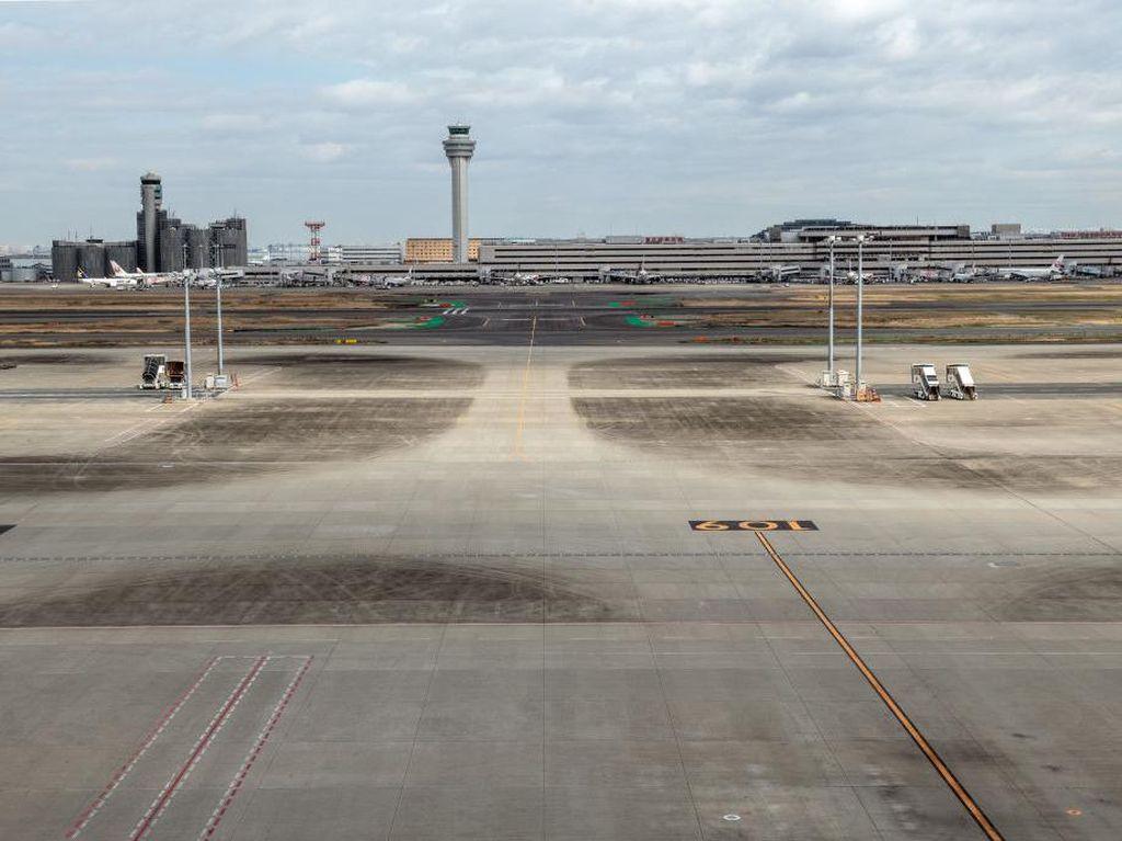 Imbas Corona, Bandara Tersibuk di Jepang Jadi Bandara Hantu