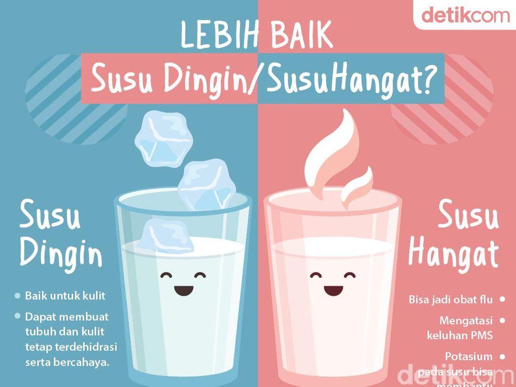 Susu Dingin Vs Susu Hangat, Pilih Mana? Ini Plus-minusnya