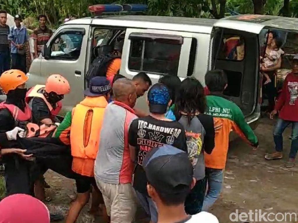 Remaja yang Hilang Terseret Arus Sungai Sadar Mojokerto Ditemukan Tewas