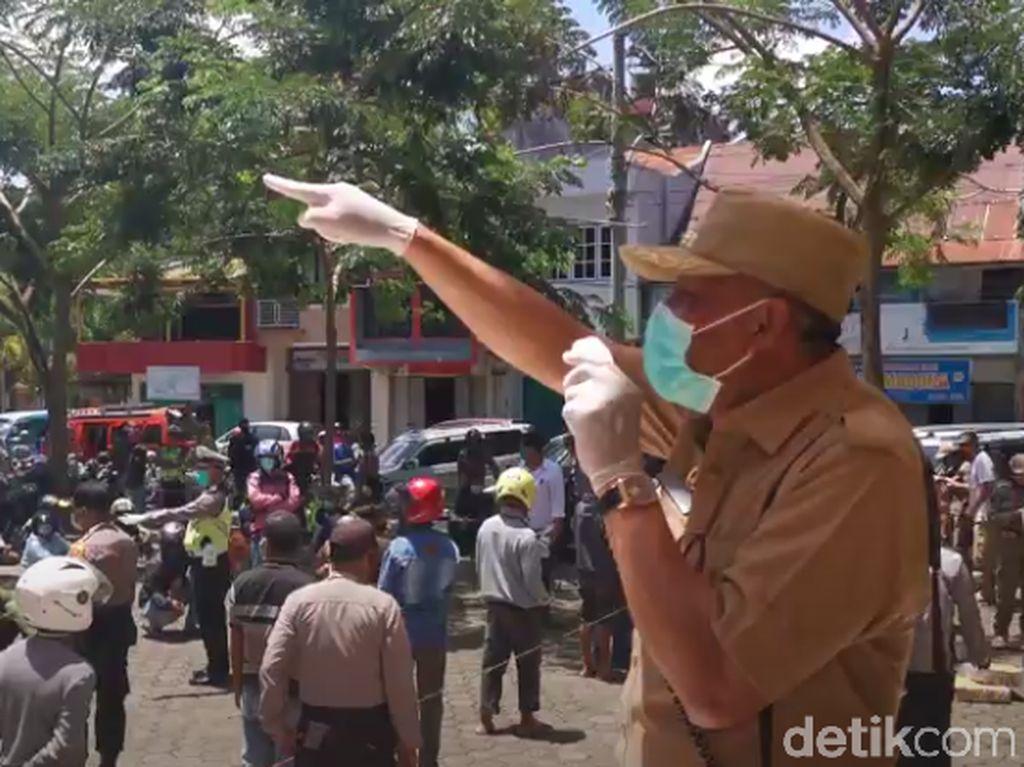 Wabup Tana Toraja Positif Corona dari Rapid Test, Sampel Swab Diuji Lab