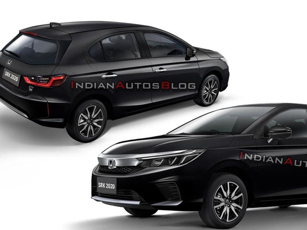 Honda Jazz Bakal Diganti City Hatchback? Begini Dugaan Tampangnya