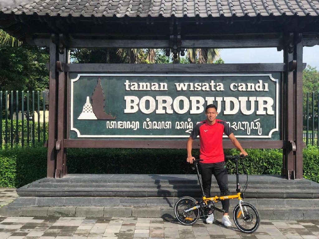 Kiat Andy Setyo Jaga Kebugaran: Gowes 60 Km, Rutenya Lewat Borobudur