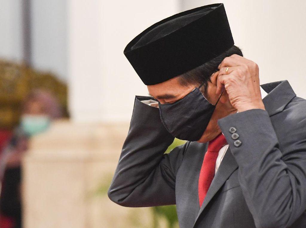 Jokowi soal Kasus Covid-19: Jangan Ada Anggap Kita Tutup-tutupi