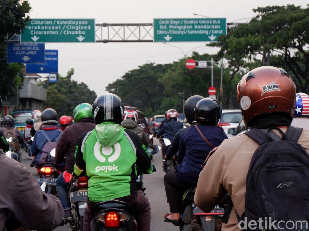 New Normal, Volume Kendaraan di Kota Bandung Alami Peningkatan