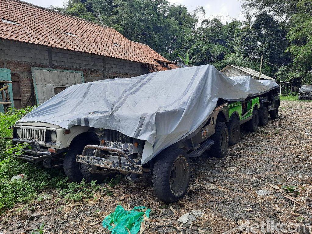 Wisata Tiarap, Ribuan Driver Jip Lava Tour Banting Setir