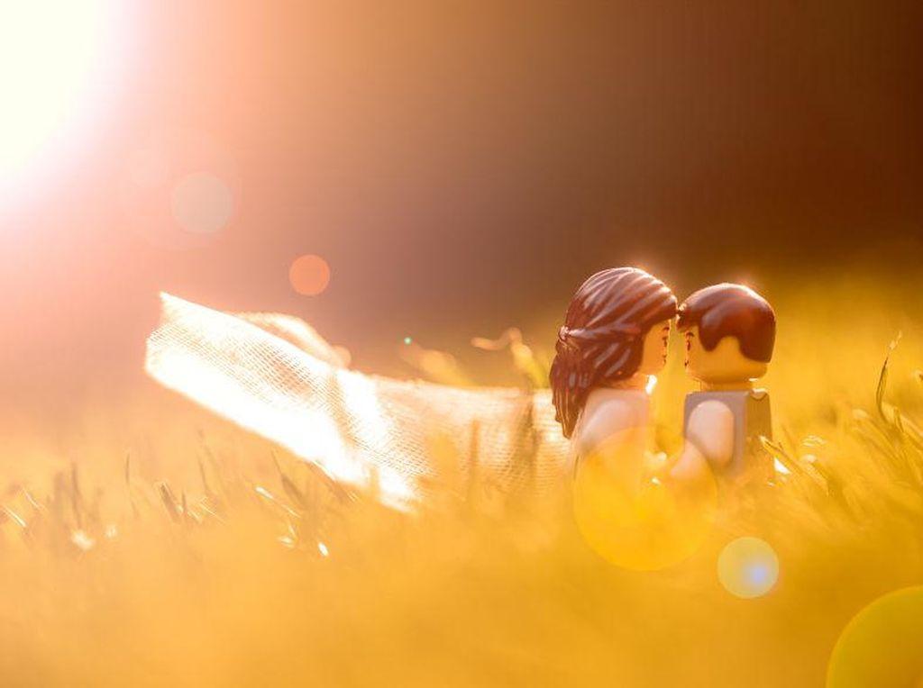 Wedding Fotografer Potret Pengantin Lego Selama Karantina