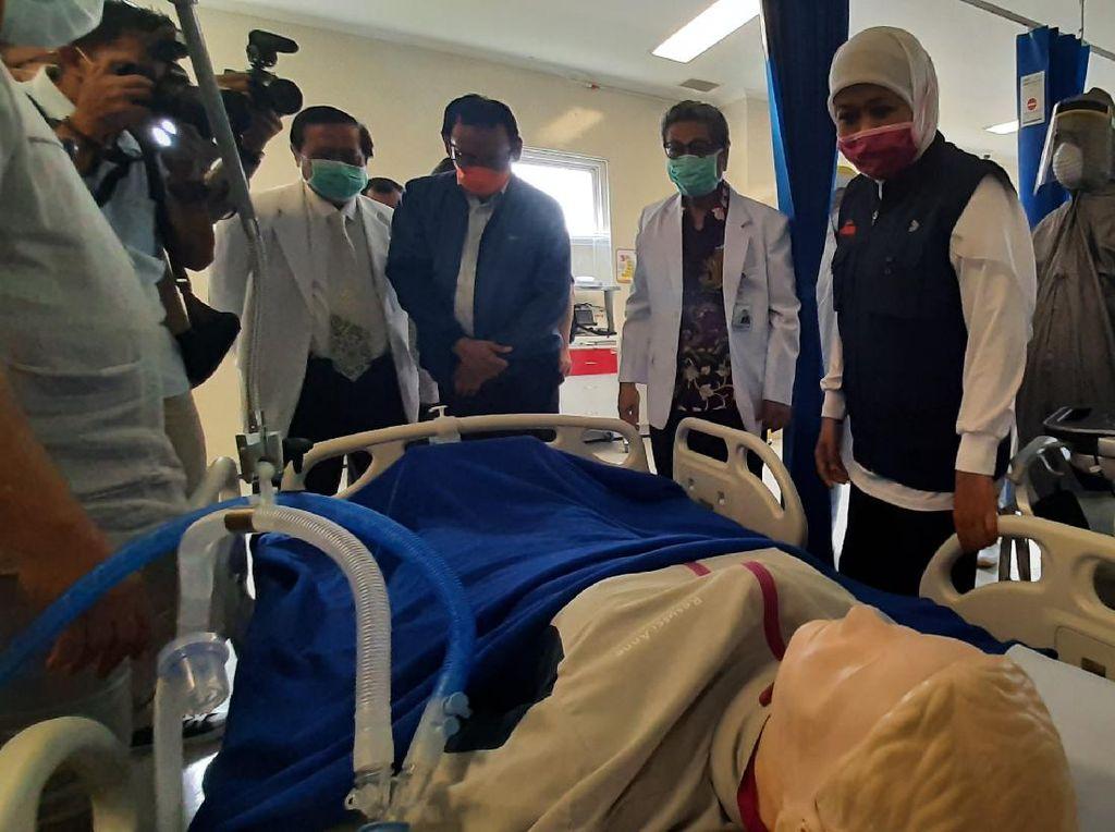 Satgas COVID-19: Keterisian ICU di Jateng-Jabar di Atas 70%