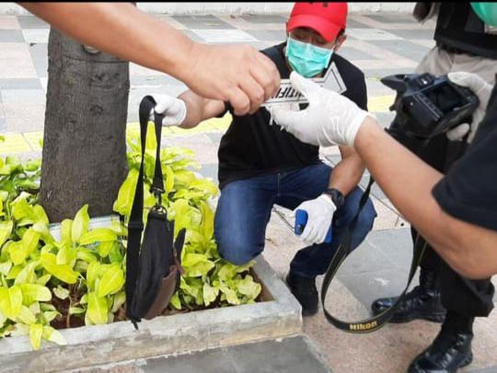 Polres Jakpus Selidiki Pria yang Buang Tas Mencurigakan di HI