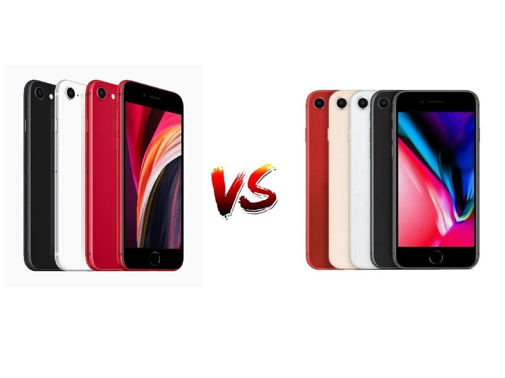 iPhone SE vs iPhone 8, Serupa Tapi Tak Sama