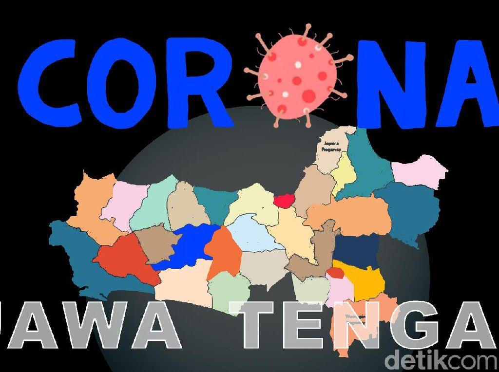 Update Corona Jateng 18 Oktober: Positif Tambah 210 dalam Sehari