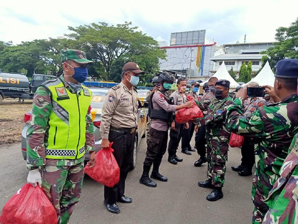 Gugas COVID-19 Lampung Buat Dapur Umum, Sediakan 1.000 Makanan Sehari